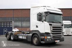 Camion polybenne Scania R 410 6X2*4 etade Lenkachse HIAB Multilift