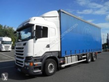 Scania R 450 truck used tautliner