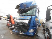 Camion rideaux coulissants (plsc) accidenté DAF XF105 460