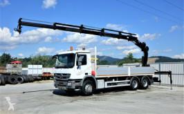 Camión Mercedes Actros 2636 Pritsche 6,80 m+KRAN/FUNK* 6x4! caja abierta usado