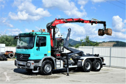 camion Mercedes Actros 3341 Abrollkipper 5,00m+ Kran*6x4!