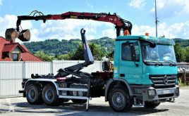 Camion multibenne occasion Mercedes Actros 3341 Abrollkipper 5,00m+ Kran*6x4!