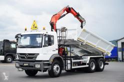 nc MERCEDES-BENZ - AXOR / 2633 / WYWROTKA + HDS / ROTATOR HYDROBURTA truck