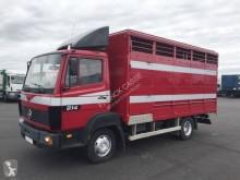 Камион за превоз на животни втора употреба Mercedes 814