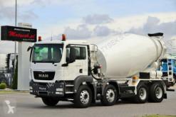 MAN betonkeverő beton teherautó