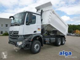Kamión vozidlo s hákovým nosičom kontajnerov Mercedes 3342 K Arocs 6x4, Stahl 20m³, Retarder, Euro 3