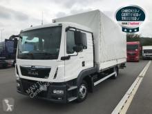 Camião MAN TGL 8.180 4X2 BL LBW Klima Euro6 caixa aberta com lona usado