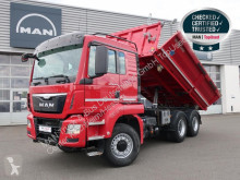 MAN three-way side tipper truck TGS 26.440 6X6H BL E6 Bordmatik 161.000 km