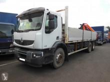 Camião Renault Premium Lander 370 DXI estrado / caixa aberta estandar usado