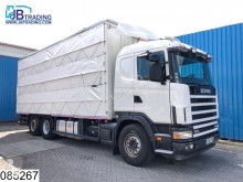 Used cattle truck Scania 124 420 Animal transport, 3 layers, Manual, Retarder, Airco, Standairco