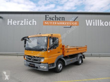 Camion tri-benne Mercedes 822 Atego 2,Meiller 3 Seiten Kipper,AHK, HU 6/21