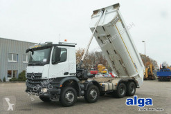 Camion multibenne occasion Mercedes 4142 K Arocs 8x4, Stahl, 18m³, Euro 6, tempomat