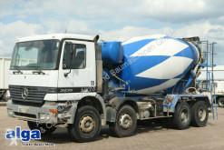 Camião Mercedes 3235 K Actros 8x4, Stetter 9m³, Schalter, betão betoneira / Misturador usado