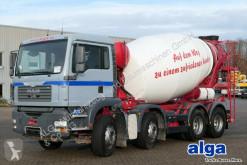 Kamión betonárske zariadenie domiešavač MAN 32.360 TGA BB 8x4, Stetter 9m³,Schalter,TÜV NEU!