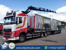 Volvo FH 460 trailer truck used tautliner