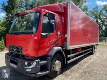 Renault Gamme D 280.19 truck used plywood box