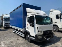 Used tarp truck Renault Gamme D