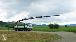 Camion plateau MAN TGA 26.360 Pritsche 6,20m+Kran/FUNK*6x4!!!