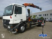 Camión multivolquete usado Mercedes 2641 Actros 6x4, Kran Palfinger, Funk, greifer