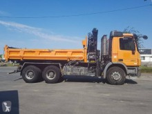 Mercedes Actros 2641 truck used three-way side tipper
