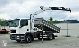 Kamion plošina MAN TGM 15.250 Kipper 3,50 m+KRAN !!!