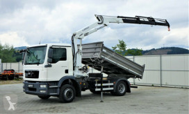 Camion MAN TGM 15.250 Kipper 3,50 m+KRAN !!! plateau occasion