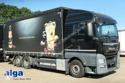 Camión remolque lona sistema de lona corrediza usado MAN TGX 26.480 TGX LL 6x2,Pritsche-Plane,LBW, Kompl. Zug