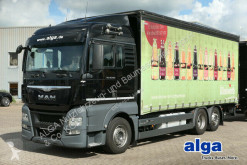 شاحنة مقطورة MAN TGX 26.480 TGX LL 6x2, Pritsche-Plane,LBW,Kompl. Zug مغطاة نظام نغطية منزلق مستعمل