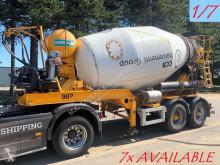 camion MOL 7x (1/7) LT AUTOMIX AM 10m³ - BELGISCHE PAPIEREN / PAPIERS BELGES - 2 AS BPW - LUCHTVERING - IMER AUTOMIX