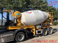 MOL concrete mixer truck 7x (2/7) LT AUTOMIX AM 10m³ - BELGISCHE PAPIEREN / PAPIERS BELGES - 2 AS BPW - LUCHTVERING - IMER AUTOMIX