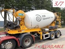 Camião betão betoneira / Misturador MOL 7x (3/7) LT AUTOMIX AM 10m³ - BELGISCHE PAPIEREN / PAPIERS BELGES - 2 AS BPW - LUCHTVERING - IMER AUTOMIX