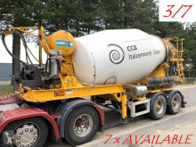 MOL concrete mixer truck 7x (3/7) LT AUTOMIX AM 10m³ - BELGISCHE PAPIEREN / PAPIERS BELGES - 2 AS BPW - LUCHTVERING - IMER AUTOMIX