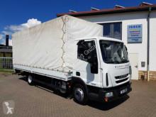 Camion savoyarde occasion Iveco Eurocargo ML75E18 Pritsche/Plane + LBW Klima