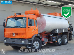 Renault chemical tanker truck Manual Lenkachse Acmar Bitumen Spray Pumpe