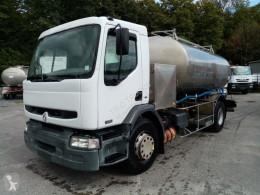 Kamyon tank gıda maddesi ikinci el araç Renault 370 DCI CITERNE EN INOX ETA (7000L+4000L) isotherme