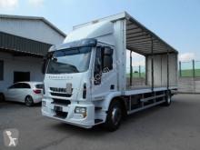 Camión lonas deslizantes (PLFD) usado Iveco Eurocargo 180 E 28 P tector