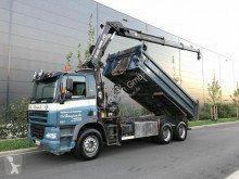 Camion benne DAF 85.380 Kipper+Kran Hiab 144E-3 Hipro Mit Remote