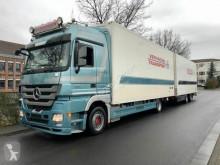 شاحنة مقطورة Mercedes Actros ACTROS 1841 Megaspace Kühlwagen komplettzug EEV برّاد مستعمل