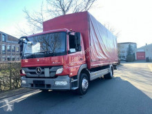 Camion Mercedes Atego 1218 Plane D-Fzg 1 Hand EURO 5 savoyarde occasion