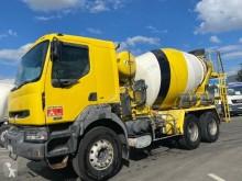 Camion betoniera cu rotor/ Malaxor Renault Kerax 420 DCI