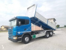 Used tipper truck Scania L 124L400