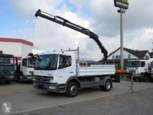 Mercedes two-way side tipper truck Atego 1224 K 2-Achs Kipper Heckkran Hiab 077