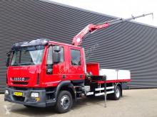 Camion plateau Iveco 120 E18D / DOKA / 7 PERSONEN / KRAN / CRANE / 113 DKM