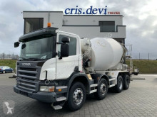 Camião betão betoneira / Misturador Scania P 380 CB 8x4 Liebherr 9 cbm