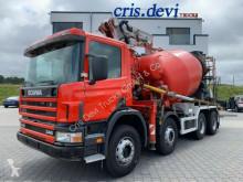 camion Scania 340 P114 8x4 Mecbo 24m