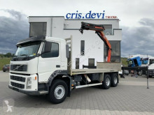 Camion plateau occasion Volvo FM 440 6x4 Palfinger PK 16502 mit Rotator