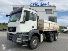 MAN TGS 26.440 6x4 BB Dreiseitenkipper AHK Hydraulik truck used three-way side tipper