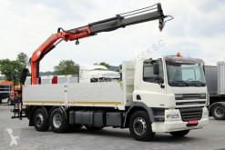 Ciężarówka DAF CF 85.380 /6X2/CRANE PALFINGER PK15500/ platforma używana