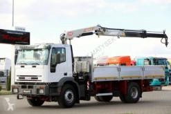 Ciężarówka Iveco CURSOR 250 / 4X2 / BOX - 6,1 M + CRANE PM 12 / platforma używana