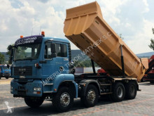 Camion benne MAN TGA 35.440 /8X6 / TIPPER / MANUAL / HYDRO-FLAP /